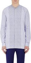 Paul Smith Men's Striped Cotton Poplin Shirt