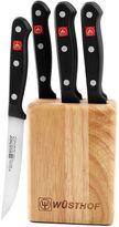Wusthof 7-Piece Gourmet Steak Knife Block Set