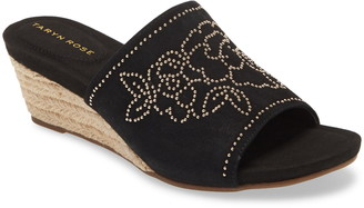 Taryn Rose Harriet Wedge Slide Sandal