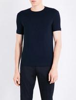 Armani Collezioni Crewneck stretch-jersey T-shirt