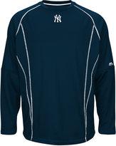 Majestic Men's New York Yankees Practice Pullover