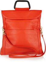 Botkier Rae convertible textured-leather clutch