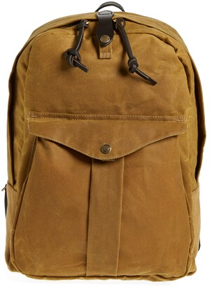 Filson 'Journeyman' Coated Canvas Backpack