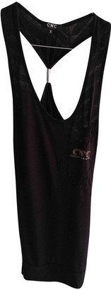 CNC Costume National Black Cotton Tops
