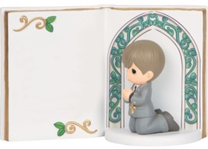 Precious Moments Remembrance Of My First Holy Communion Figurine, Boy