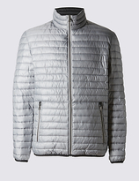 M&s Collection Lightweight Quilted Jacket With Stormweartm