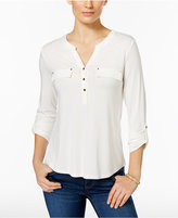 Charter Club Petite Henley Top, Only at Macy's