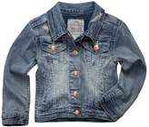 Levi's Toddler Girls Distressed Denim Trucker Jacket