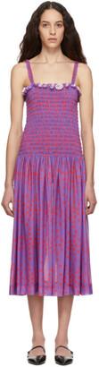 Molly Goddard Purple Elsie Dress