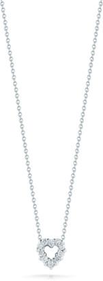 Roberto Coin Mini Heart Pendant Necklace
