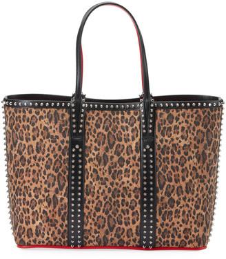 Christian Louboutin Cabata Liege Rio Leopard-Print Tote Bag