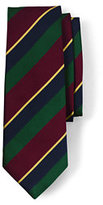 Classic Men's Long Regimental Stripe Necktie-17th London Regiment