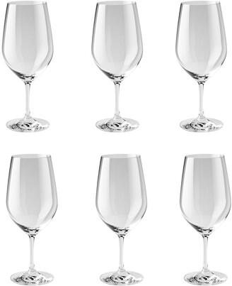 Zwilling J.A. Henckels Set Of 6 Bordeaux Grand Glasses