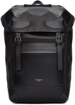 Givenchy Black Leather Ride Backpack