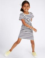 Marks and Spencer Pure Cotton Striped Dress (3 Months - 5 Years)