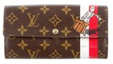 Louis Vuitton Monogram Groom Sarah Wallet