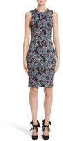 Versace Women's Jacquard Sheath Dress