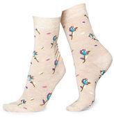 Happy Socks Rose Crew Socks