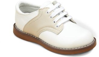 FootMates Toddler's & Kid's Leather Saddle Oxford Shoes