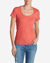 Eddie Bauer Women's Essential Slub Short-Sleeve Scoop-Neck T-Shirt