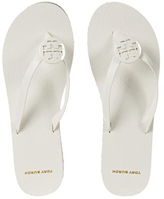 Tory Burch Minnie Flip-Flop (Ivory/Ivory/Multi) Women's Shoes