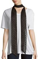 Saks Fifth Avenue Geometric Glitter Scarf