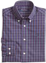 Brooks Brothers Boys' Non-Iron Check Sport Shirt
