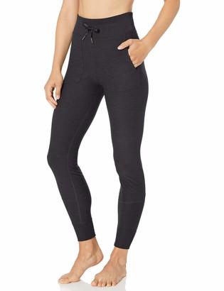 Core 10 Cozy High Waist Legging With Pockets Black Heather 3X (22W-24W)
