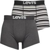 Levi's 200SF Multi Colour Stripe Two Pack Boxer Briefs Caviar