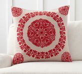 Pottery Barn Roxanne Embroidered Pillow Cover