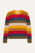 L.F.Markey - Romeo Striped Knitted Sweater - Yellow