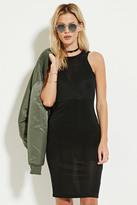 Forever 21 FOREVER 21+ Shadow Stripe Midi Dress