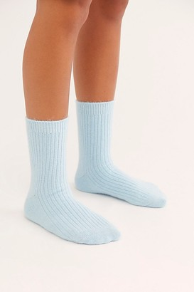 Free People Cashmere Cloud Socks