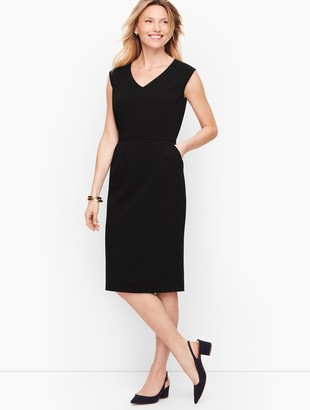 Talbots Italian Luxe Knit Sheath Dress