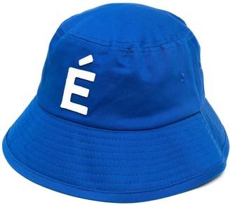 Études Patch-Detail Cotton Bucket Hat