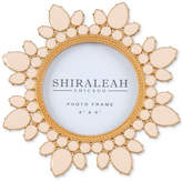 "Shiraleah Paloma 4""x 4"" Round Picture Frame"