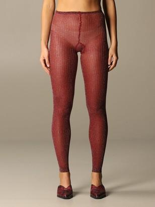 Missoni Pants Leggings In Stretch Lurex Knit