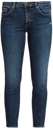 AG Jeans Prima Mid-Rise Crop Cigarette Jeans