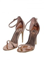 AX Paris Rose Gold Barely There Heels