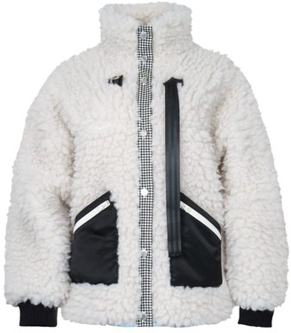 Sandy Liang Seven Faux Fur Fleece Jacket