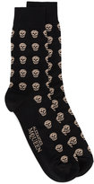 Alexander McQueen short skull socks - men - Cotton/Polyamide/Spandex/Elastane - One Size