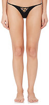 Fleur Du Mal Women's Cheeky Star-Cutout Stretch-Silk Panties