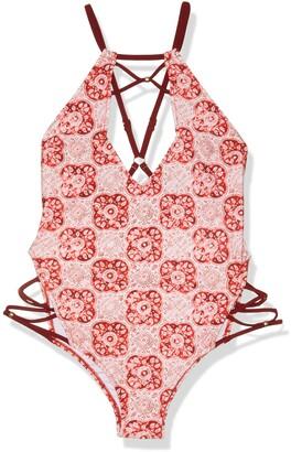 MinkPink Women's Spicey One Piece Swimsuit
