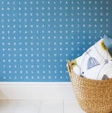 Identity Papers 'Sugar And Slugs' Word Search Wallpaper Seawater