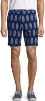 Jachs Men's Printed Bleecker Shorts