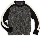 Ralph Lauren Girl's Cable-Knit Detail Sweater