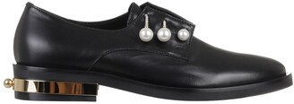 Coliac Pearl Detail Loafers