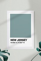 Wynwood Studio New Jersey Color Swatch Art