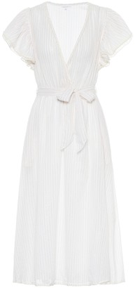 Poupette St Barth Exclusive to Mytheresa Kimi striped twill dress