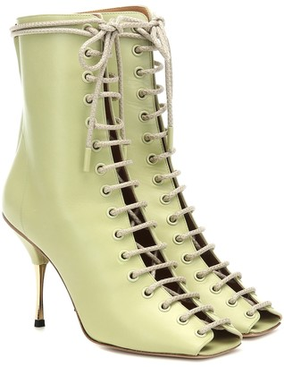 Petar Petrov Siena leather ankle boots